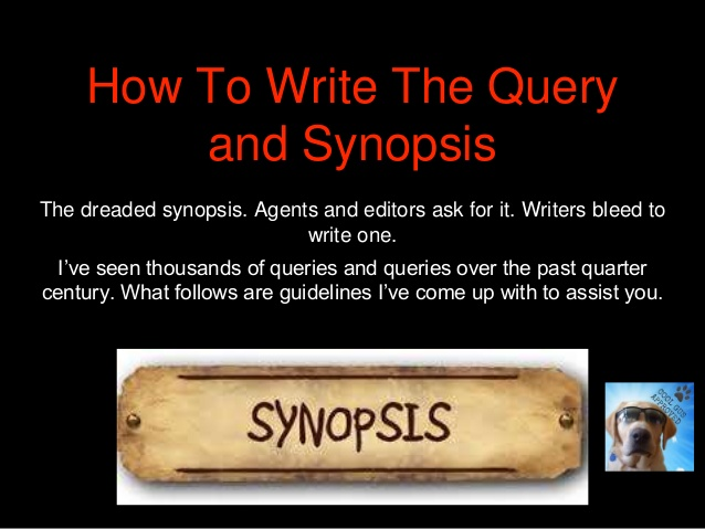 Writer Wednesday: How To Write The Query and Synopsis