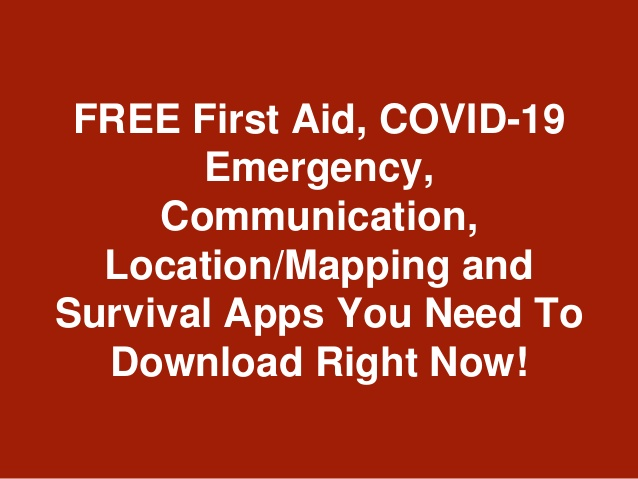Day 276: Survival Preparation. Task 16. APPs You Need To Download Now