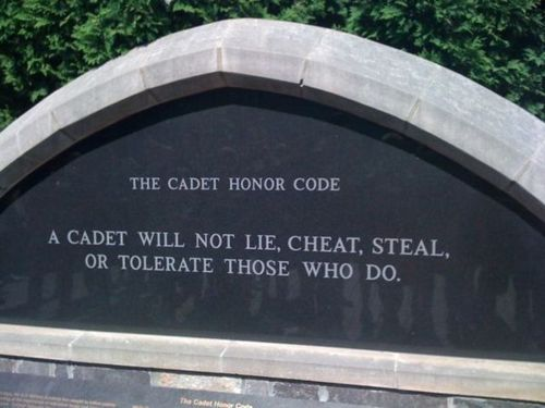 On West Point and the Honor Code