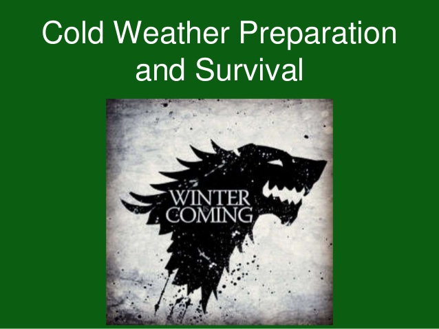 What You Need to Know for Cold weather Preparation and Survival