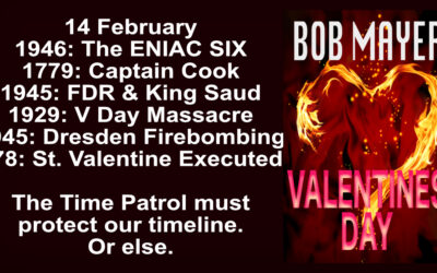Valentines Day: Same day, six different years. Six Time Patrol Missions
