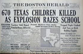 THE NEW LONDON SCHOOLHOUSE EXPLOSION