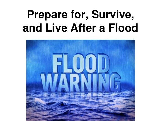 How to Prepare for and Deal with FLOODING